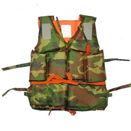 Kry Britisches Design Erwachsene Bubble Camouflage Life Jacken Badeanzug Life Vest
