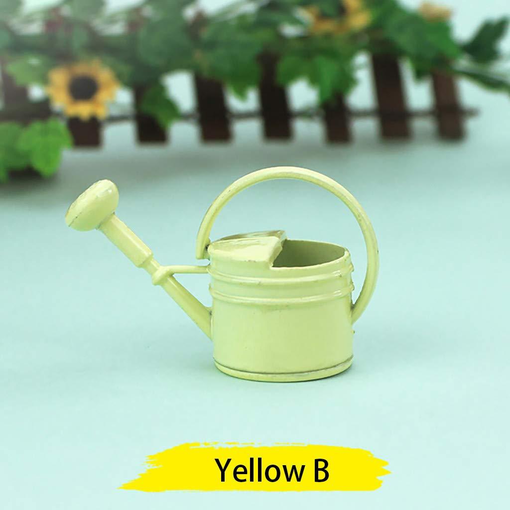 D/écor pour 1:12 Mini Dollhouse Decoration Watering Can Jardin Arrosoir Douche DingLong Toy Maisons de poup/ées Miniature Accessoire Les Meubles A