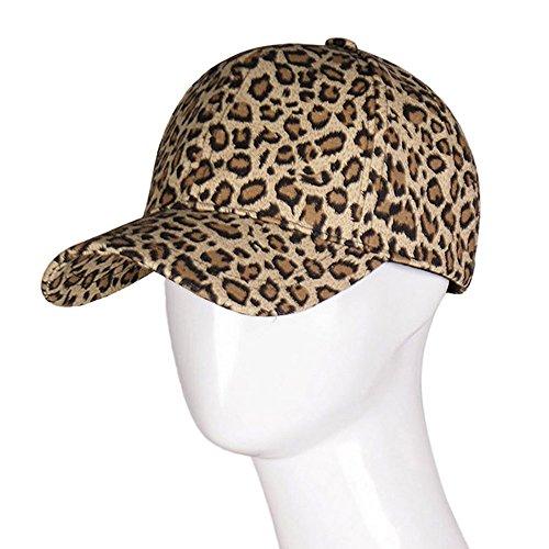 Fashion Leopard Print Baseball Caps for Women Men Brand Snapbacks Cowboy Hats]()