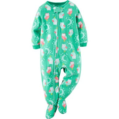 c59e9de45 Amazon.com  Carters Girls  Blanket Sleeper  Clothing