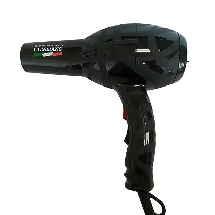 Gamma Più L italiano secador profesional – negro ...