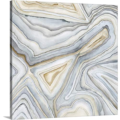 - Agate Abstract I Canvas Wall Art Print, 36