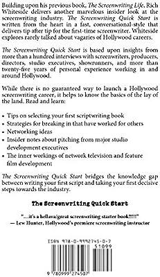 The Screenwriting Quick Start: Basics of Development