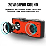 AOMAIS-Sport-II-Portable-Wireless-Bluetooth-Speakers-40-with-Waterproof-IPX720W-Bass-SoundStereo-PairingDurable-Design-for-iPhone-iPodiPadPhonesTabletEcho-dotGood-Gift