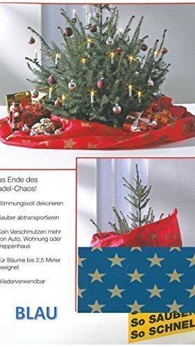 Weihnachtsbaum decke und transportsack