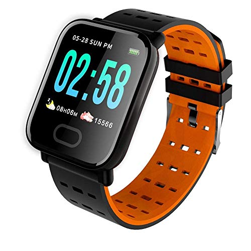 Rhobos [Festival Special: Today Only Sale] Wireless Bluetooth Waterproof Bluetooth Z116-A Smart Fitness Band SmartWatch/Activity Tracker/Smart Band for Men, Women, Boys, Girls