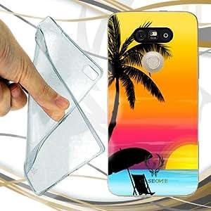 CUSTODIA COVER CASE PALM BEACH PER LG G5