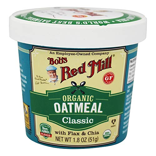 Bob's Red Mill Organic Gluten Free Oatmeal Cup, Classic, 12 Count