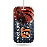 Rico Industries NFL Cincinnati Bengals Plastic Team Luggage Tag