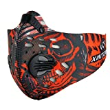 Dustproof & Windproof Half Face Mask Cycling Bike Outdoor Sports Colorful Red
