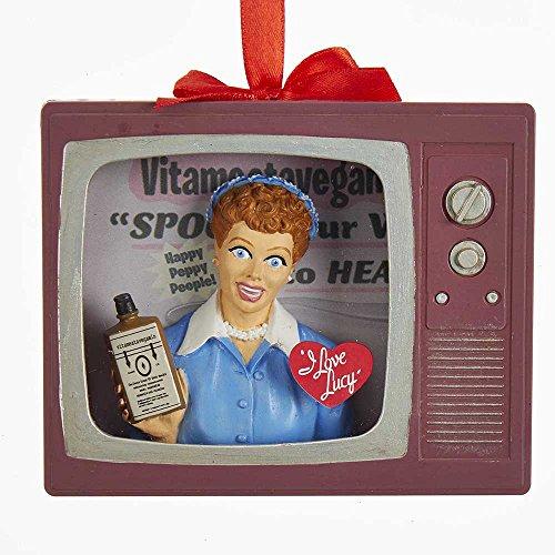 Kurt Adler Kurt S. Adler I Love Lucy Vitameatavegamin TV Ornament