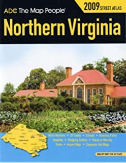 ADCs Street Map of Northern Virginia Adc 9780875300009 Amazon