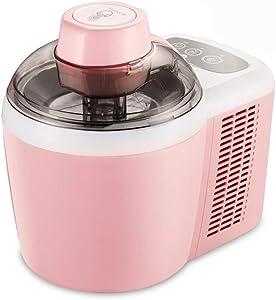 Ice Cream Makers Automatic Ice Cream Machine Homemade Freezer Fruit Smoothie Mini Small Children's Smoothie Machine (Color : Pink, Plug Type : AU)