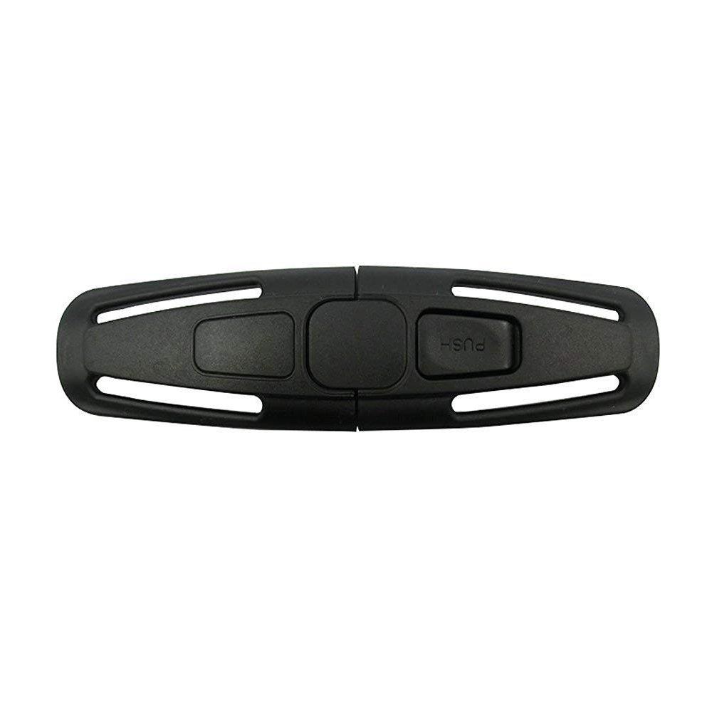Nur Ein Autosicherheitsgurt Gurtschloss Tite Harness Brust Clip Sichere Schnalle f/ür Baby Kids-Schwarz ISKIP Autositz G/ürtelschnalle