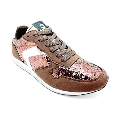 Bass3d, Sneaker Donna Marrone