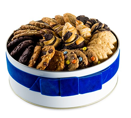 Gimmee Jimmy's Chocolate Chip 2lb Cookie Tin | Perfect for Corporate Gifts, Birthday Presents, and Sympathy Gifts (Edible Gifts Delivered)