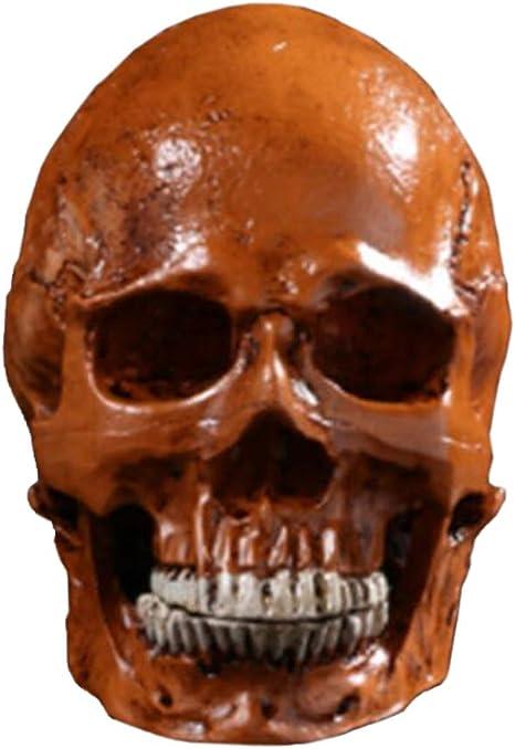 Figurine Skull New//Old Stock Miniature Halloween 1.25 IN