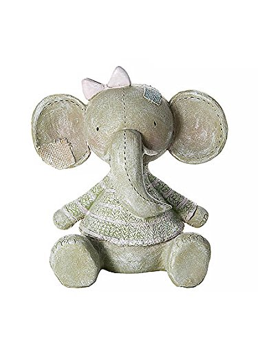 Mousehouse Gifts Grey and Pink Very Cute Safari Elephant Money Box Toy Coin Savings Piggy Bank for Baby Kids Children Present Gift for Girls