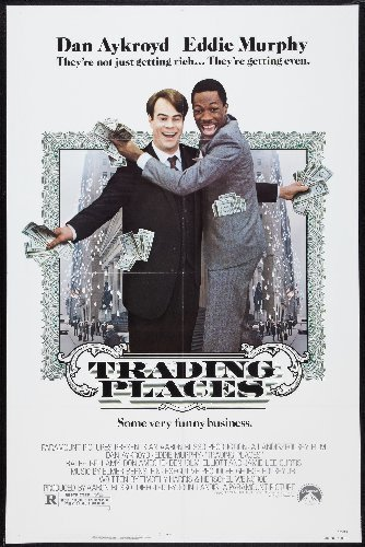 (Trading Places Movie Poster 2ftx3ft)