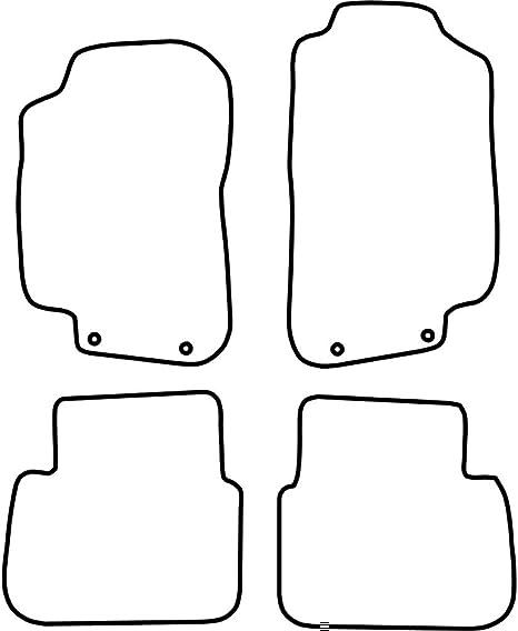 Fußmatten Auto Autoteppich passend für SAAB 9-3 2002-2007