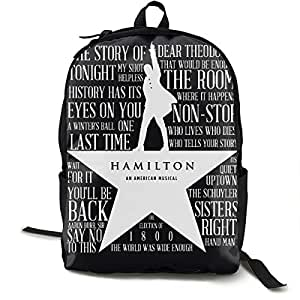 Fabulous Classic Laptop Backpack Hamilton An American School Book Bag Durable Daypack Classic Storage Bag Lightweight Shoulders Bag Foldable Backpacks Caraccident5 Cool Chair Designs And Ideas Caraccident5Info