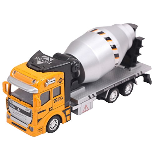 - Aivtalk Scale Diecast Cement Mixer Truck Construction Vehicle Transport Car Carrier Truck Toy Model Cars for Boys