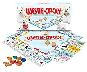 WESTIE-OPOLY (Monopoly Style Game for Westies & their humans!)