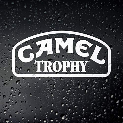 Yilooom Camel Trophy Off Road Sticker - Overland Land Rover Defender Discovery
