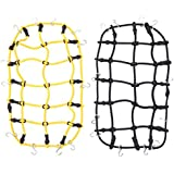 2pcs RC Car Synthetic Roof Rack Cargo Luggage Net for 1:10 Traxxas SCX10
