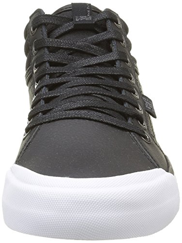 Mujer Black Hi Altas DC White Zapatillas Black Shoes Evan Negro xSpnqva