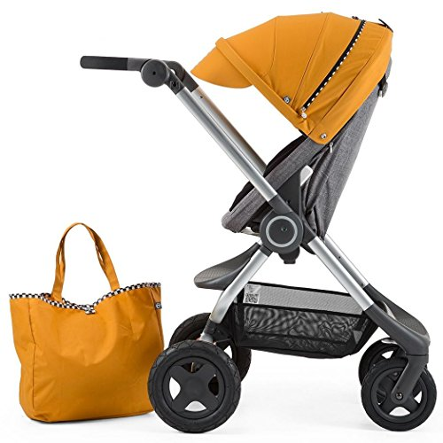 Stokke Scoot Stroller Racing Kit, Yellow