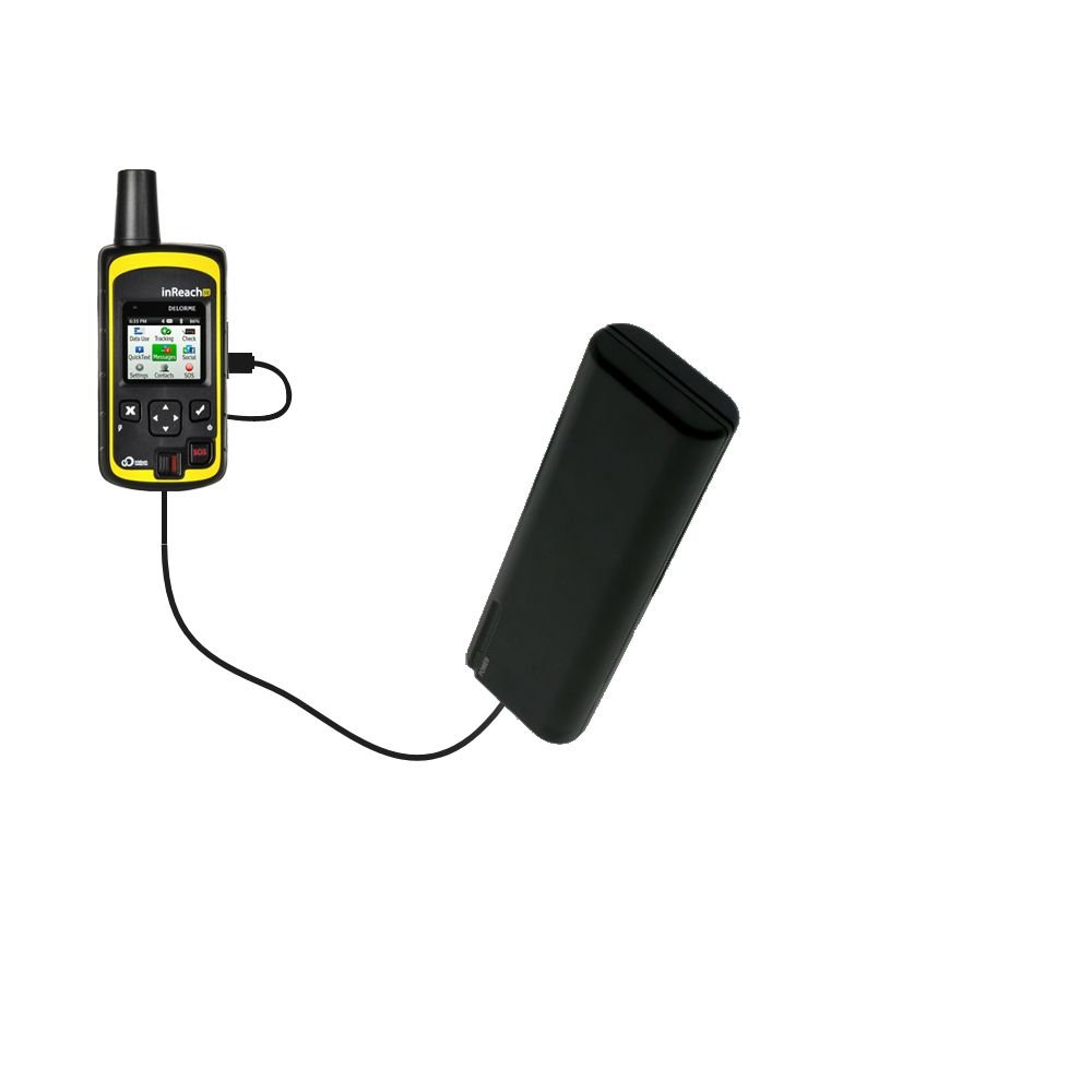 Portable Emergency AA Battery Charger Extender suitable for the DeLorme inReach SE - with Gomadic Brand TipExchange Technology by Gomadic (Image #1)