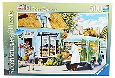 Ravensburger Happy Days at Work No.3 -The Baker, 500pc Jigsaw Puzzle