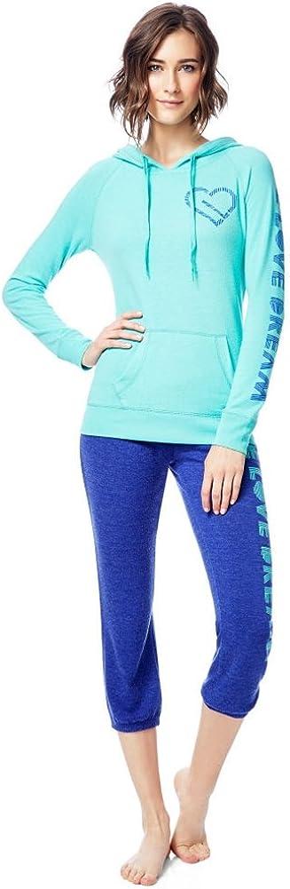 Aeropostale Womens Slim Cinch Pajama Sweatpants