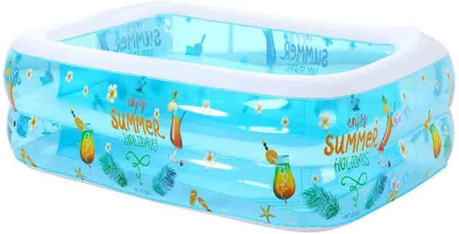 DALL Piscinas hinchables Tamaño Personal Inflable Rectangular De ...