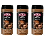 Best weiman Leather Cleaners - Weiman Leather Wipes, 30 Ct, 3 Pack Review
