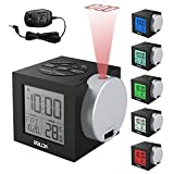Best Projection Clocks - Alarm Clocks Time Projection, New Clock Time on Review