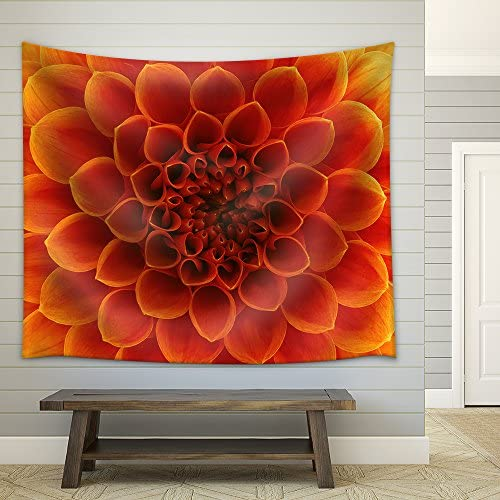 Abstract Flower and Beautiful Petals Fabric Wall