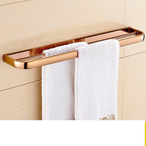 lovely double-bar Towel rack/European garden metal pendants-D