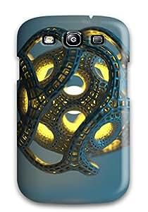 Hot Design Premium CXTisiA6880huuka Tpu Case Cover Galaxy S3 Protection Case(3d Cgi Abstract Cgi)