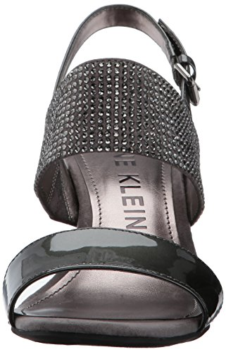 cheap sale best store to get cheap sale countdown package AK Anne Klein Sport Women's Elisha Fabric Pump Pewter free shipping for sale in China cheap online free shipping original sfY9rA