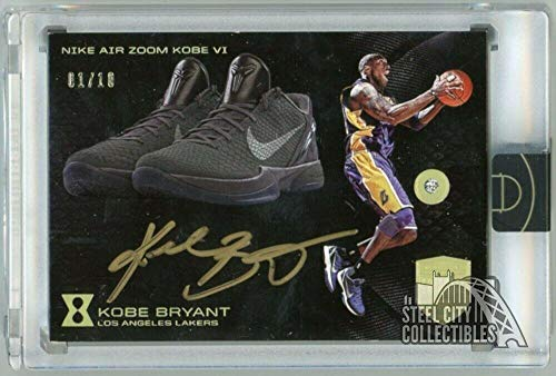 d9a119d22 Los Angeles Lakers memorabilia. Kobe Bryant 2017-18 Panini Kobe Eminence  Signature Sketches Auto Diamond 1 10 8 - Panini Certified - Basketball  Slabbed ...