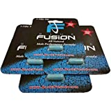 Bluefusion all Natural Male Performance Enhancement Supplement Energy, Stamina and Endurance. (4 Pills) by Naturel