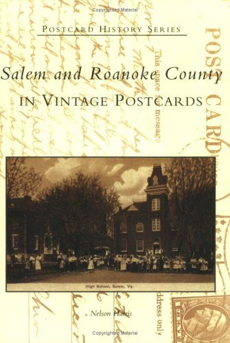 Salem and Roanoke County in Vintage Postcards (VA) (Postcard History Series) by Nelson Harris - Malls Shopping Salem