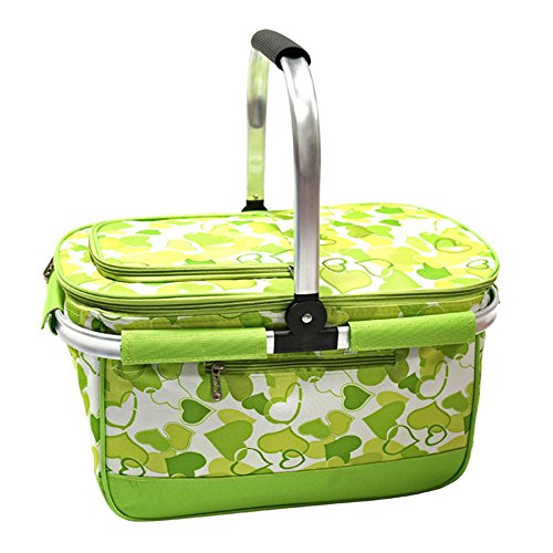 Picknick-Tasche Picknick-Tasche Picknick-Tasche Freien Camping bequem Besteck Isolierung Korb Faltbare Picknickkorb B07DSQD8JH Taschen Günstiger 3cdd64