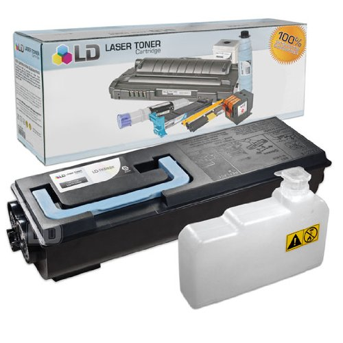 LD© Kyocera-Mita Compatible TK582K Black Laser Toner Cartridge for use in FS-C5150Dn, and P6021cdn Printers