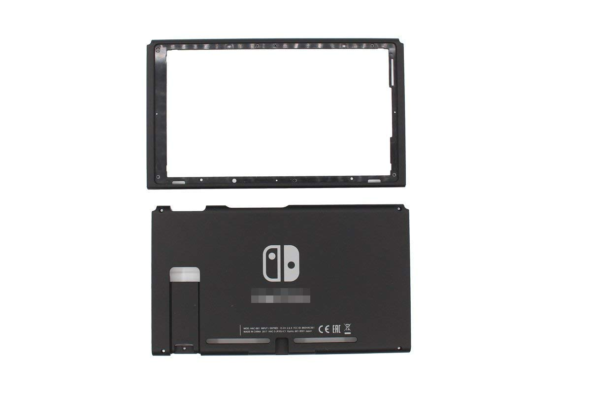 Awaqi Replacement Hard Top and Bottom Housing Shell Case Front Back Plate for Nintendo Switch Console Replacement Parts NS NX Console by Awaqi