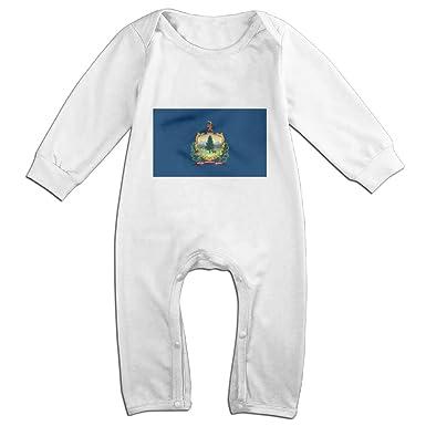 Amazon Com Ttopuu Flag Of Vermont Baby Girl Boy Clothes Cartoon