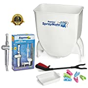 Aquaus SprayMate & Aquaus 360 Premium Diaper Sprayer for Toilet Bundle