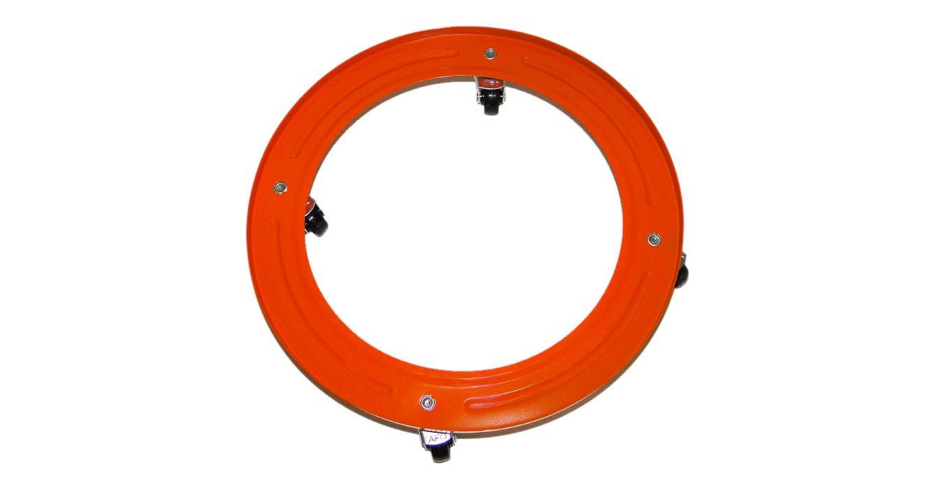 Broncinox 10118 Com Gas 10118-Soporte metálico bombona, Ruedas, Metal, 30x4x30 cm: Amazon.es: Jardín